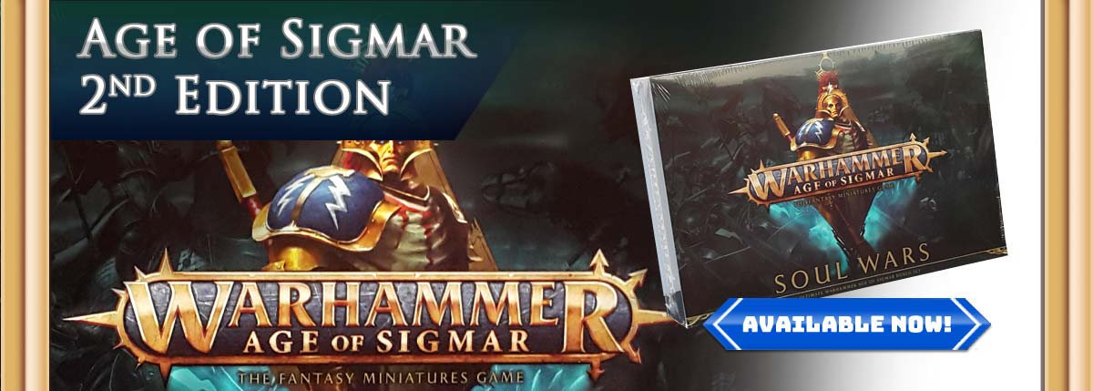 Age of Sigmar 2nd Edition!