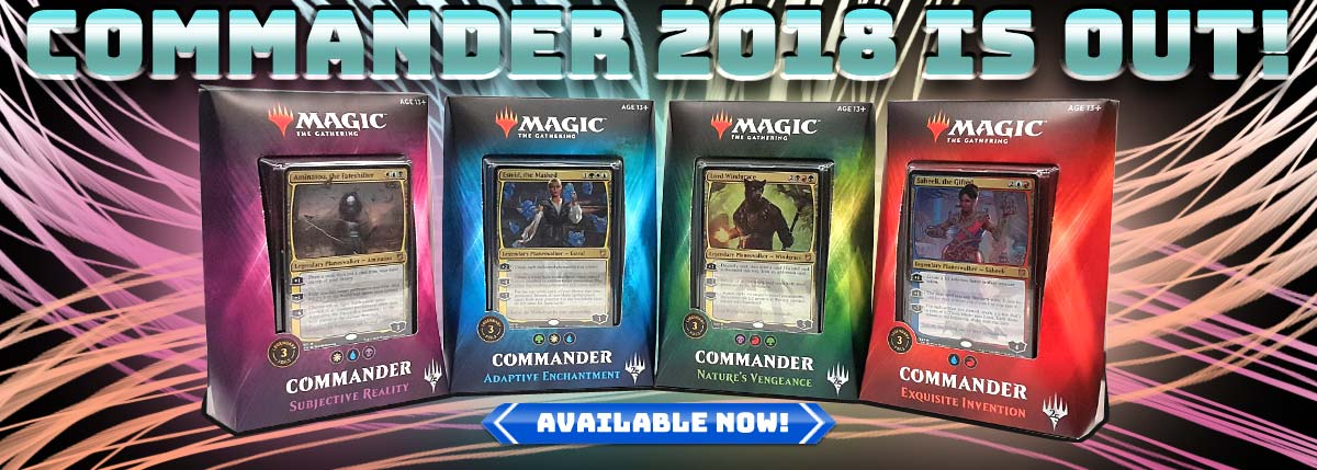 MTG Commander Deck 2018