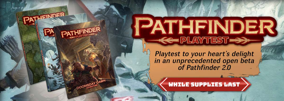 Pathfinder 2.0 Playtest