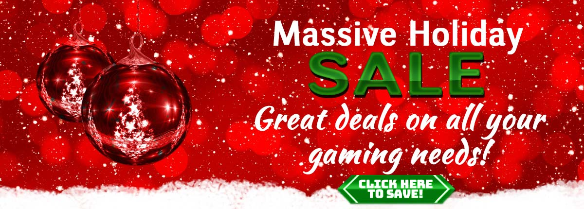 Massive Holiday Sale On Now!