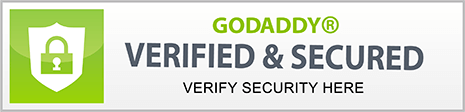 GoDaddy Verified & Secure - click to verify